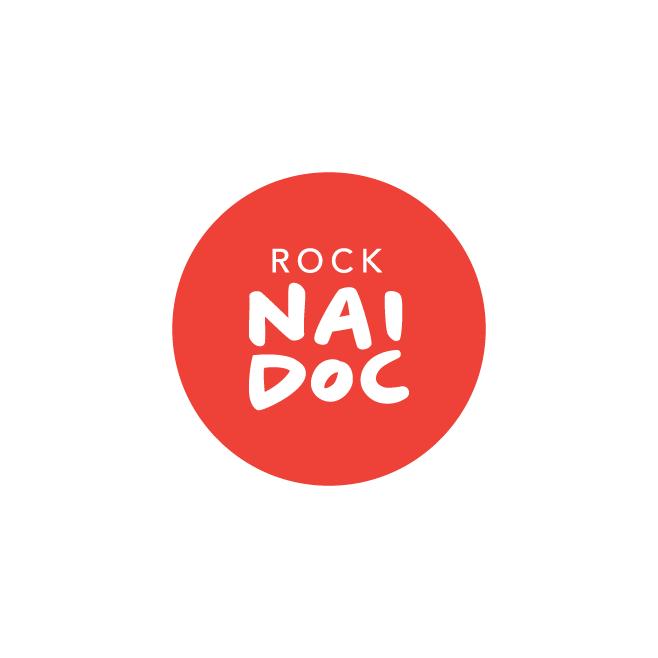 ROCK NAIDOC Business Logo Design | FMSTUDIOS