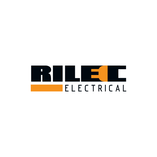 Rilec Electrical Logo Design | FMSTUDIOS