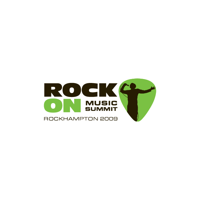 Rock On Music Summit Logo Design | FMSTUDIOS
