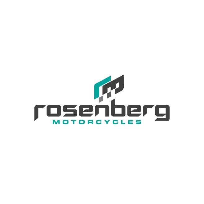 Rosenberg Motorcycles Business Logo Design | FMSTUDIOS