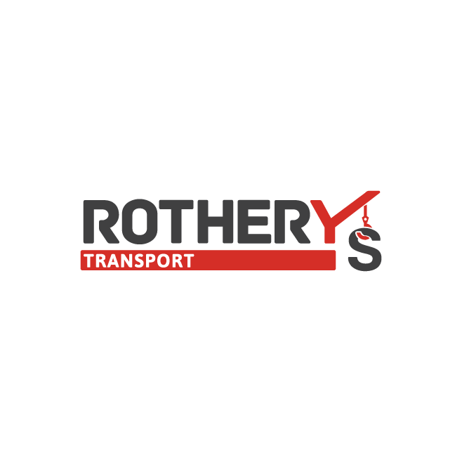 Rothery's Transport Business Logo Design | FMSTUDIOS