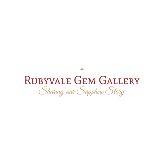 Rubyvale Gem Gallery Business Logo Design | FMSTUDIOS
