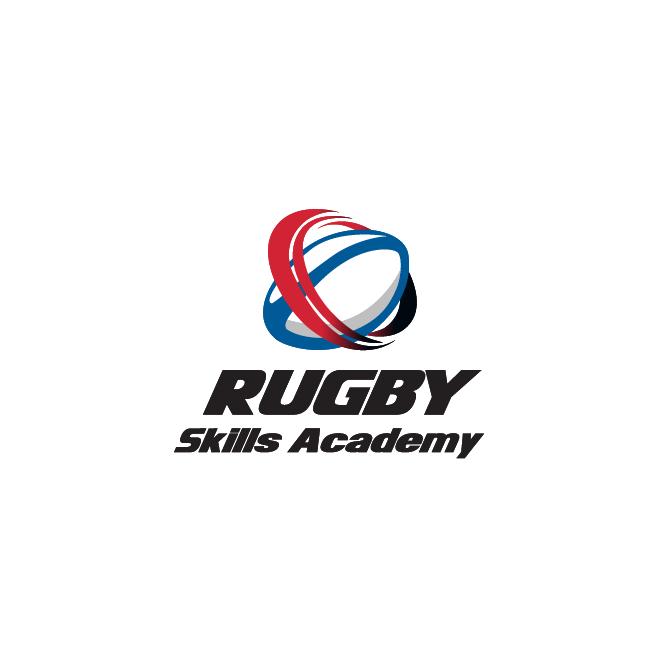 Rugby Skills Academy Business Logo Design | FMSTUDIOS
