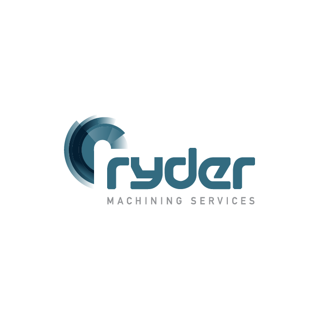 Ryder Machining Services Logo Design | FMSTUDIOS