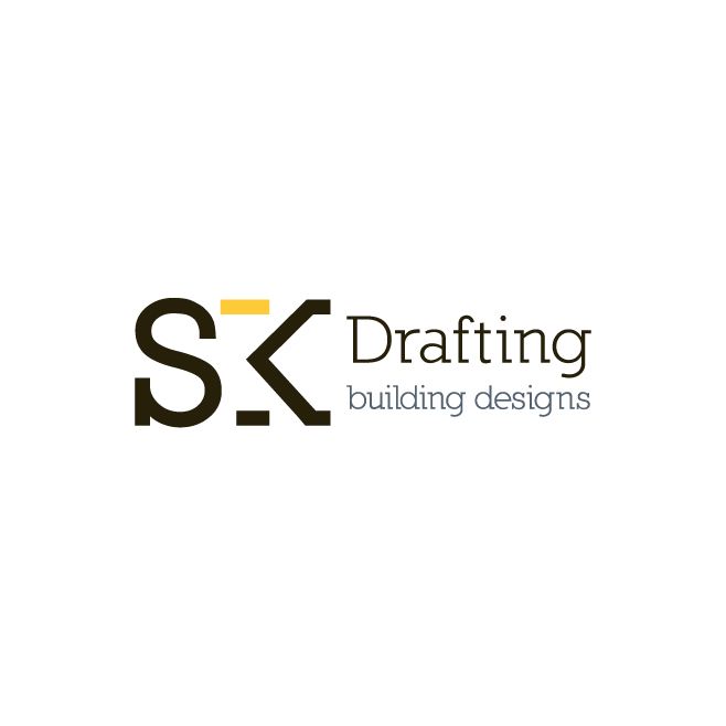 SK Drafting Logo Design | FMSTUDIOS