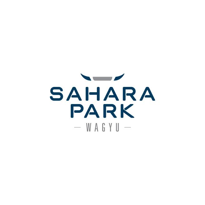 Sahara Park Wagyu Business Logo Design | FMSTUDIOS