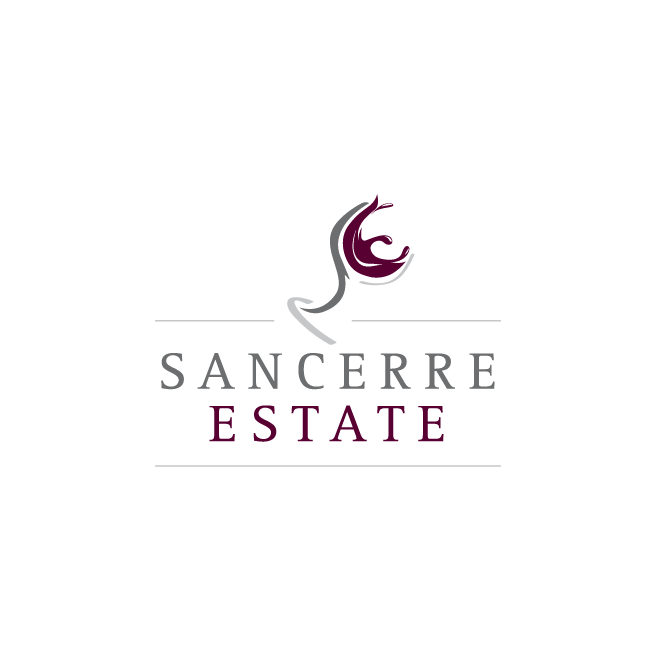 Sancerre Estate Granite Belt Logo Design | FMSTUDIOS
