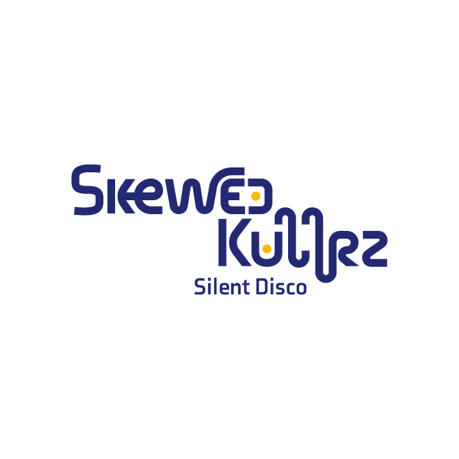 Skewed Kullrz Silent Disco Rockhampton Business Logo Design | FMSTUDIOS