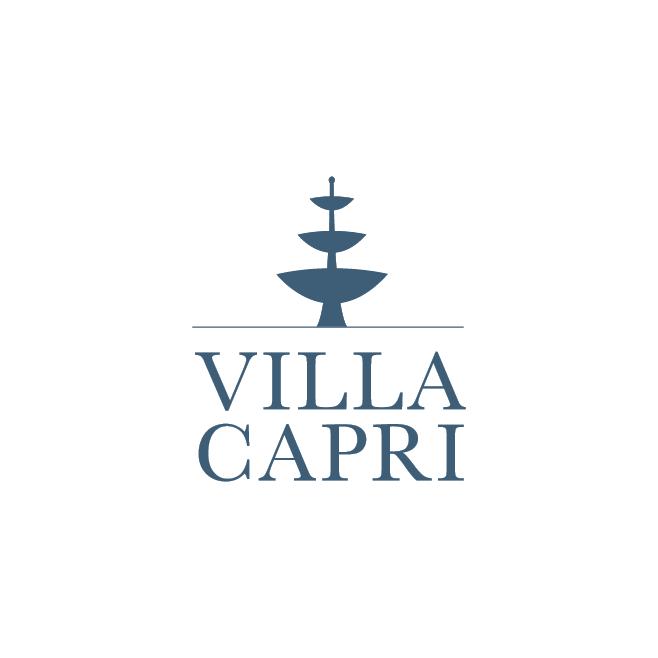 Villa Capri Business Logo Design | FMSTUDIOS