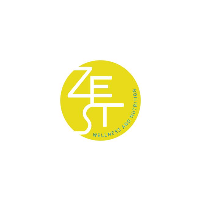 Zest Wellness and Nutrition Business Logo Design | FMSTUDIOS