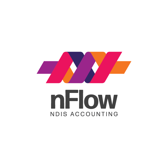 nFlow NDIS Accounting Bundaberg Logo Design | FMSTUDIOS