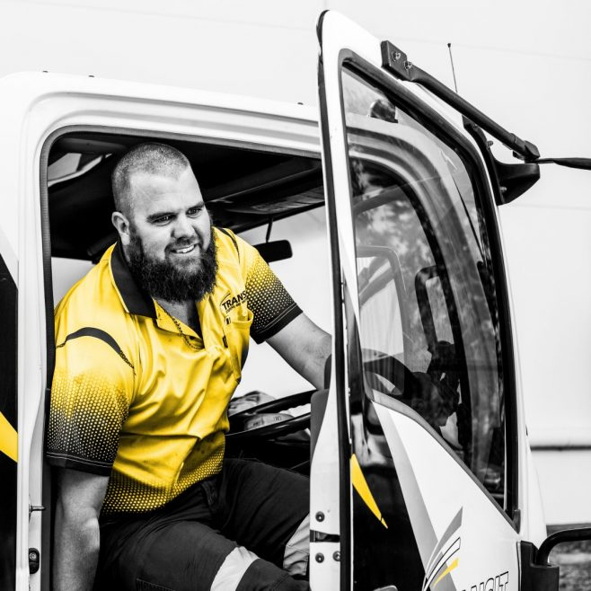 Transit Couriers Rockhampton, professional website photography | FMSTUDIOS