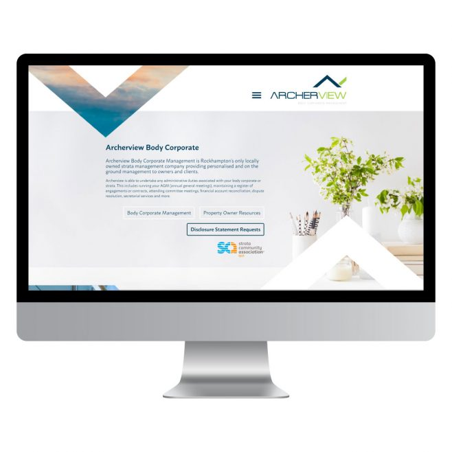 Archerview Body Corporate Management, website design Rockhampton | FMSTUDIOS