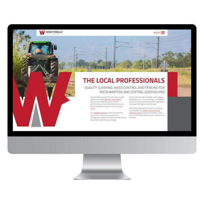 Winstondale Spraying Contractors, website design Rockhampton | FMSTUDIOS